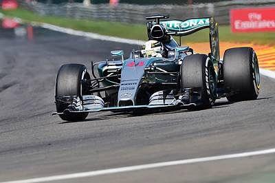 Lewis Hamilton tops Belgian GP final practice after edging past Nico Rosberg