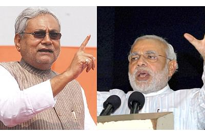In campaign mode,PM needles Nitish