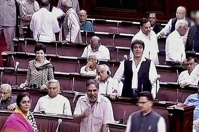 Congress protests over Jaitley forces two adjourns in RS