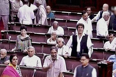 Rajya Sabha disrupted again