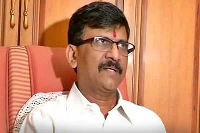 Ink attack on Shiv Sena MP Sanjay Raut by party worker