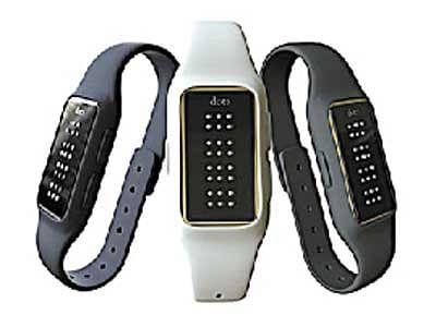 Smart Watch Meets Braille With The 'BizlineDot'