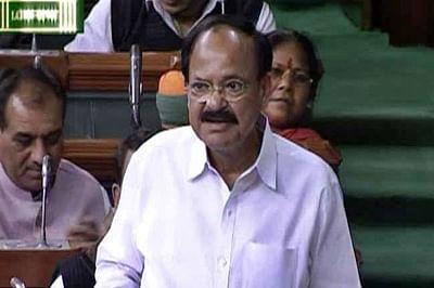 Venkaiah Naidu urges Congress, Left to cooperate in passing GST Bill