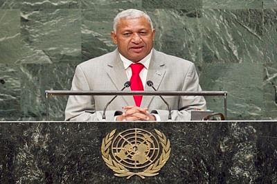 Fijian PM Voreqe Bainimarama calls for global solidarity in rebuilding global economy