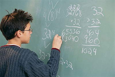 Blame math-anxious  parents for poor results