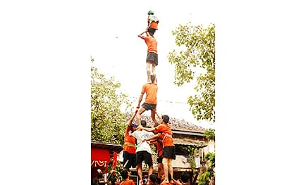Now, dahi handi gets adventure sport status