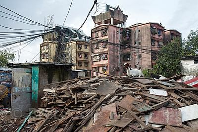 Now, call BMC to get rid of construction debris