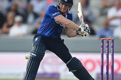 Morgan helps England level series