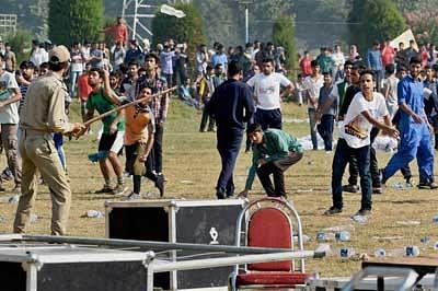 Pro-Pak goons run riot at K-marathon Kashmir run