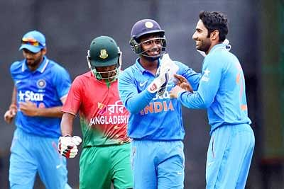 Gurkeerat shines in India A victory