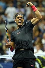 Serena Williams, Rafael Nadal, Novak Djokovic ease into second round