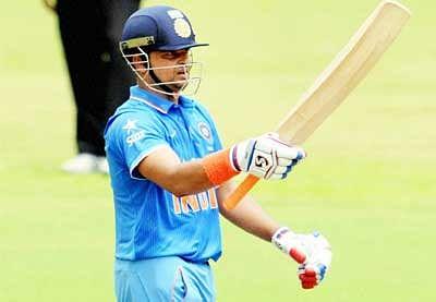 Raina ton helps India A clinch three-match series