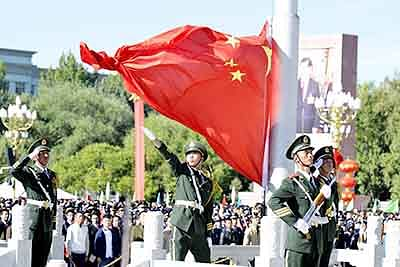 China showcases 50 yrs of its hold on Tibet