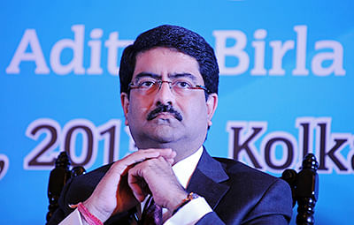 Kumar Mangalam Birla, Chairman of the Aditya Birla Group, looks on during an interactive session in Kolkata on June 28, 2013. The session, organised by the  182-year-old Calcutta Chamber of Commerce (CCC), was attended by business leaders, civil society representatives, and diplomats to share views and ideas on the current economic situation. AFP PHOTO/ Dibyangshu SARKAR.