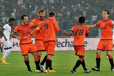 Delhi take on Mumbai in search of top spot in ISL