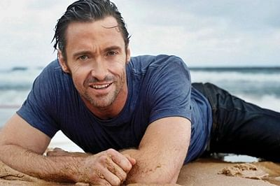 Jackman 'embarrassed' to fall in love with wife