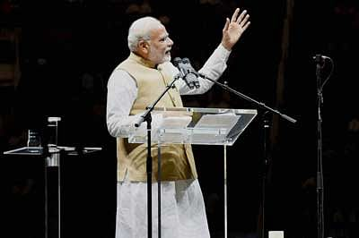 Peace, unity, harmony first condition for development: Modi