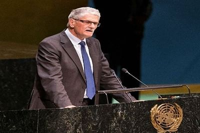 New UNGA president Mogens Lykketoft pledges to continue Security Council reform process