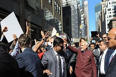 Indian expats shower praise on PM Modi during his second US visit