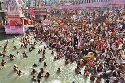 Devotees gather for second Shahi Snan at Nasik, Tryambakeshwar