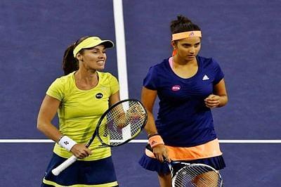 Sania Mirza-Martina Hingis storm into US Open women's doubles final