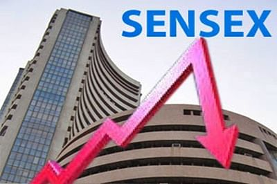 Short coverings dent markets, Sensex closes 392 points down