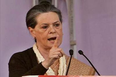 BJP pursuing 'communal and divisive' agenda: Sonia Gandhi
