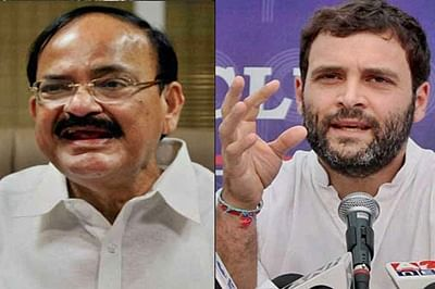 Venkaiah Naidu hits back on Rahul over land policy