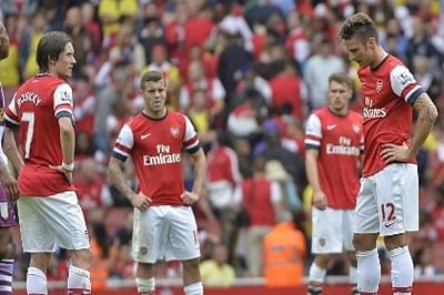 Arsenal beat City 2-1 to grab second place