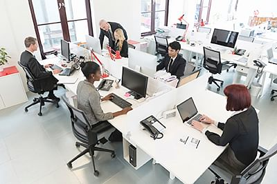 Office design might be  reason behind squabbles at workplace