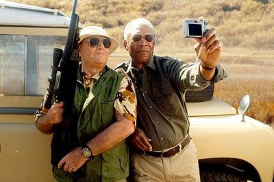 THE BUCKET LIST, Jack Nicholson, Morgan Freeman, 2007. ©Warner Bros./courtesy Everett Collection