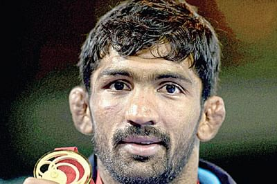 All eyes on Yogeshwar at Asian Olympic wrestling qualification