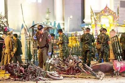 Thailand police seek 10th suspect in Brahma temple bombing