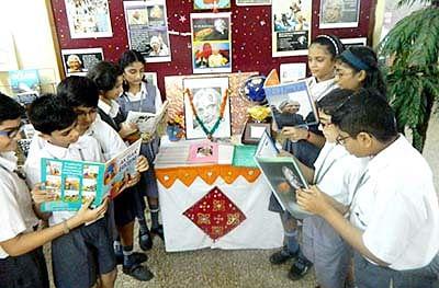 Edu minister inaugurates library in Palghar school