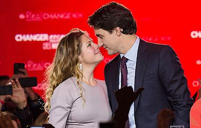 Canada's Liberals storm to landslide election win