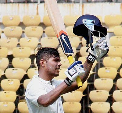 Andhra reach 213-4 against  Mumbai on rain-affected day