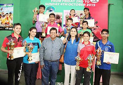 Triple treat for Ambre;  Parte, D'Souza lift titles