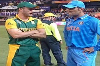 De Villiers credits Dhoni for India's ODI victory