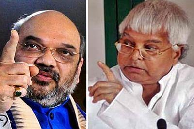 'Narbhakshi' has finally gone mad: Lalu on Amit Shah