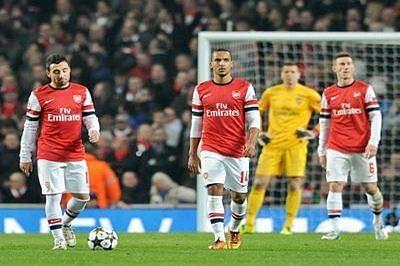 Arsenal thump Bayern, Barcelona close to sealing last 16 berth