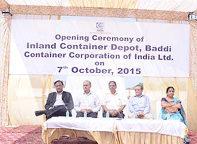Concor's First Inland Container Depot In Hp Inaugurated