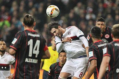 Frankfurt hold Bayern 0-0 in German Bundesliga