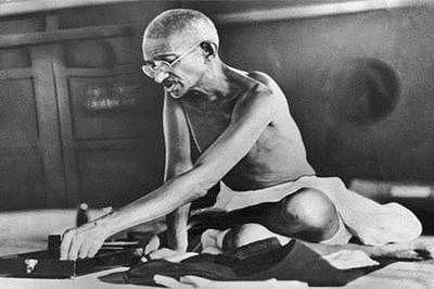 Following Mahatma's diet on his birthday