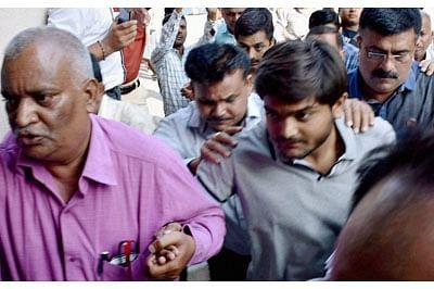 After Surat, HardikPatel in Ahmedabad net