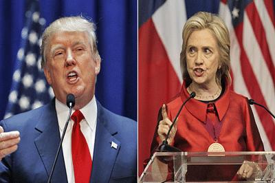 Hillary Clinton slams Trump in front of his casino