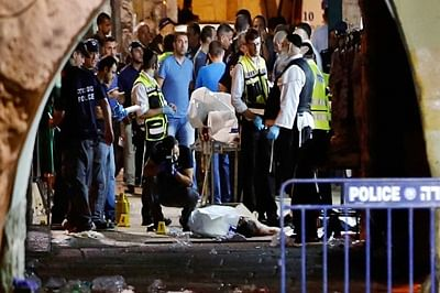 Two Israelis killed in Jerusalem stabbing and shooting attack