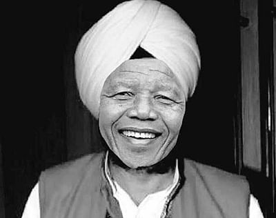 Modi sees Mandela in Punjab CM Badal
