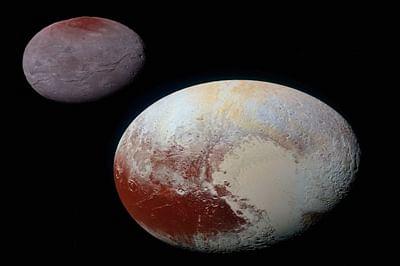NASA captures Pluto's moon Charon in stunning detail