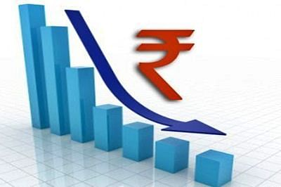 Rupee surrenders initial gains, down 8 paise