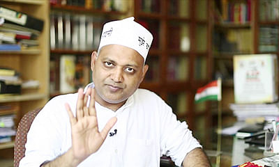 Bharti seeks bail, claims  it's a 'BJP-sponsored' case